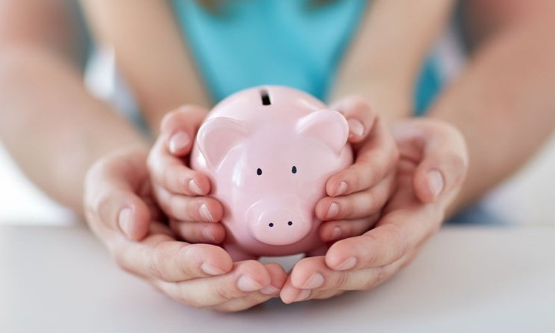 Gift your child a piggy bank