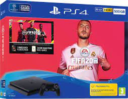 PS4 SLIM 500GB WITH FIFA 20