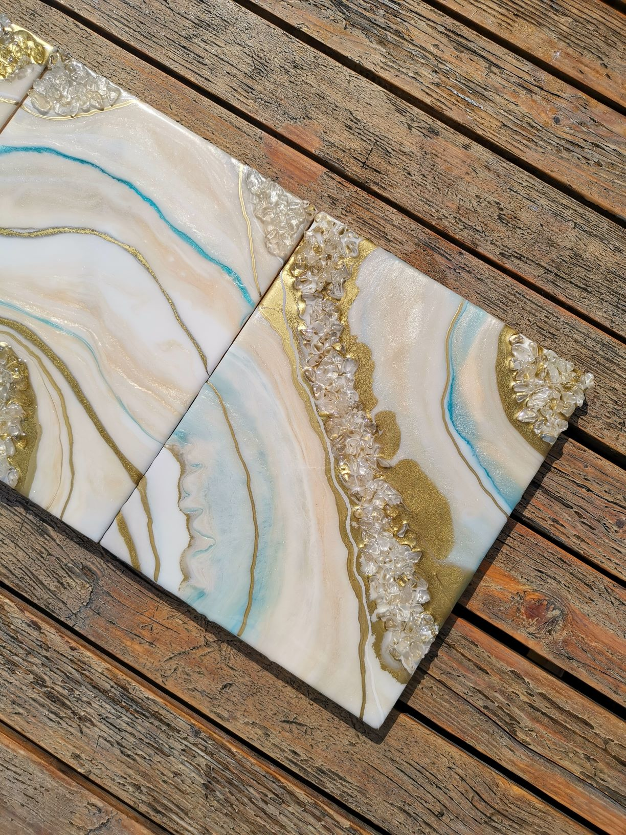 Golden Way Wall décor set