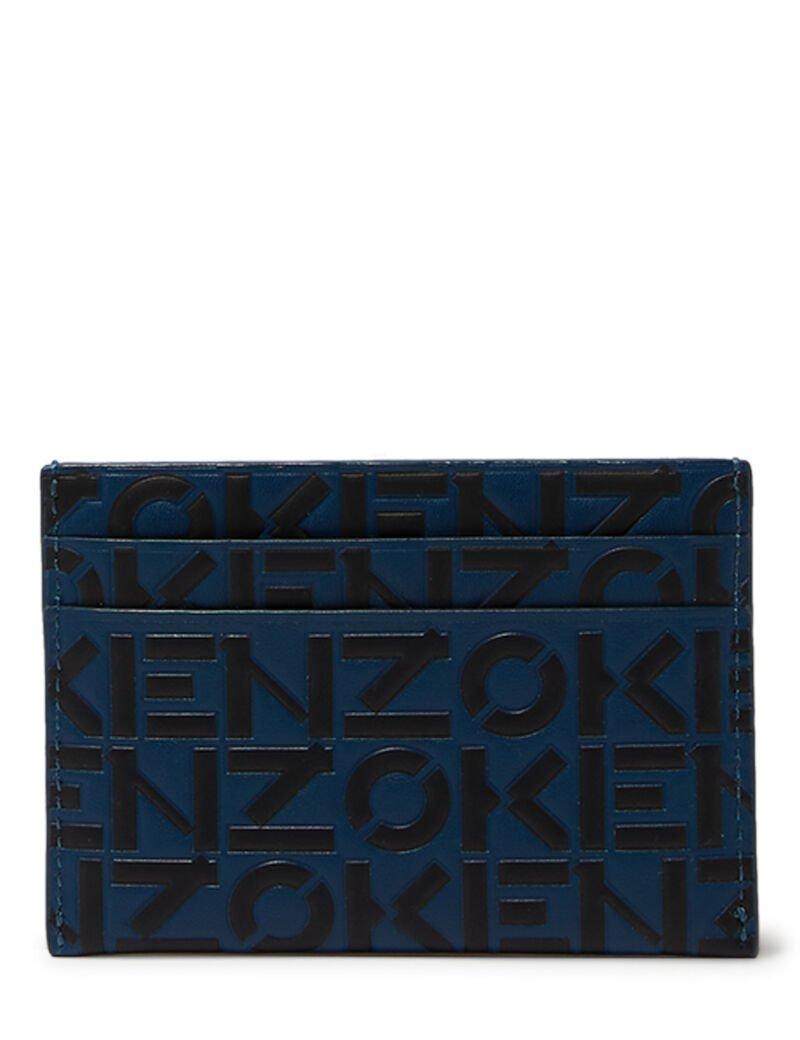 Kenzo Monogram Print Cardholder