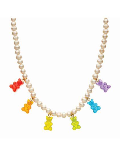 Crystal Haze -Juanita Chain Necklace