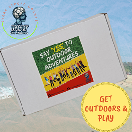 BEAT the Minutes Ready-to-play Family Party Game Box - Say 'YES' To Outdoor Adventures