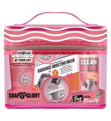 Soap & Glory Bag A Little Beauty Wash Bag Gift Set