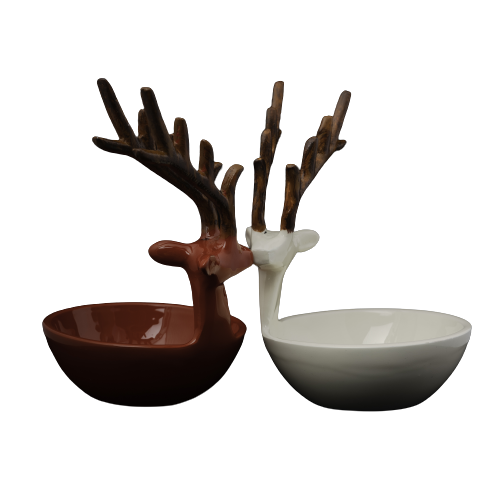 Reindeer - serve ware(set of 3 )-M0030004