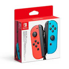 Switch Joy Con Controller Pair Neon Red/Neon Blue (Nintendo Switch)