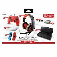 Nyko Master Pack For Nintendo Switch