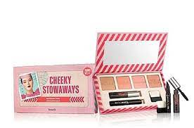 BENEFIT CHEEKY STOWAWAYS TRAVEL SET DISCONTINUED SEALED