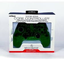 Nyko Wireless Core Controller for Nintendo Switch [Crystal Green]