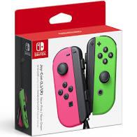 Nintendo Joy-Con (L/R) - Neon Pink/Neon Green