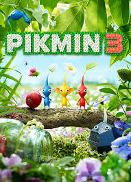 Pikmin 3 Deluxe Game for Nintendo Switch