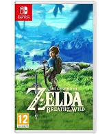 The Legend of Zelda Breath of The Wild Video Game for Nintendo Switch by Nintendo