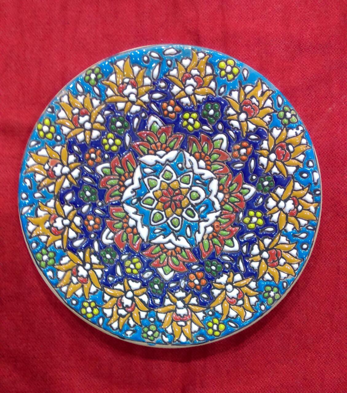Set of 4 Turkish Circular Plates