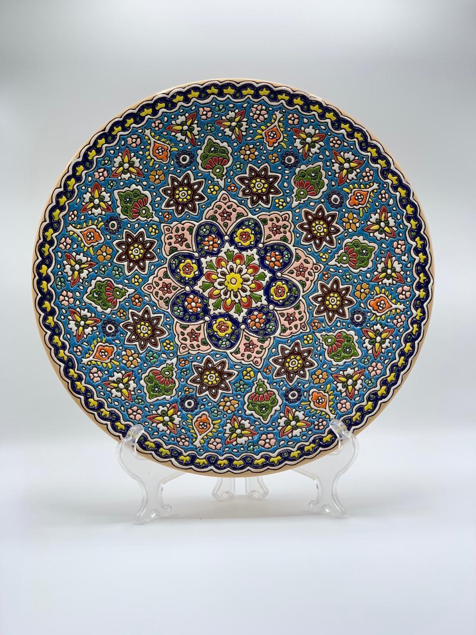 Turkish Round Plate